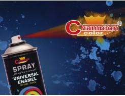 Аэрозоль универсальный Champion 9005 черный как смоль матовый - изображение 4 - интернет-магазин tricolor.com.ua