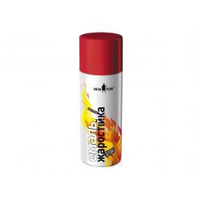 Аэрозоль жаростойкий New Ton красный