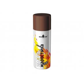Аэрозоль жаростойкий New Ton коричневый