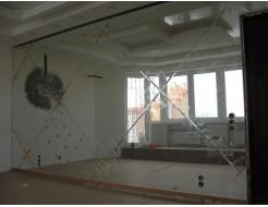 Зеркальная стеновая панель с декором - изображение 2 - интернет-магазин tricolor.com.ua