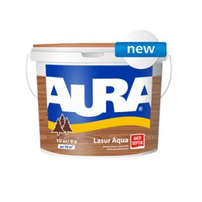 Лазурь для дерева Aura Lasur Aqua орех - интернет-магазин tricolor.com.ua