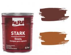 Эмаль износостойкая для пола Aura Stark ПФ-266 красно-коричневая - изображение 2 - интернет-магазин tricolor.com.ua