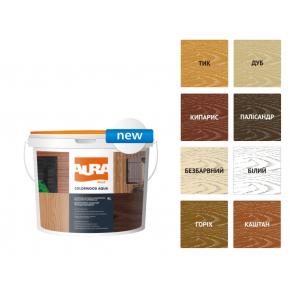 Состав декоративно-защитный для древесины Aura ColorWood Aqua дуб - изображение 2 - интернет-магазин tricolor.com.ua