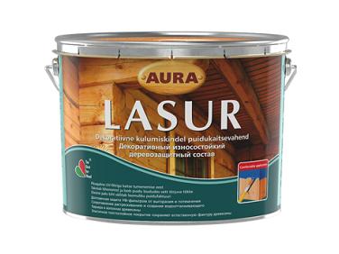Состав декоративно-защитный для дерева Aura Lasur база