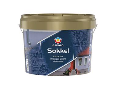 Краска цокольная матовая Eskaro Sokkel