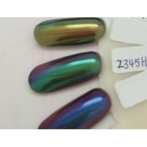 Зеркальный пигмент Tricolor 2345HS фиолетово-зеленый