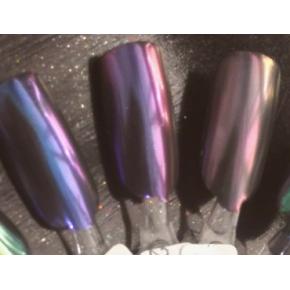Зеркальный пигмент Tricolor 2123MLG фиолетовый - изображение 2 - интернет-магазин tricolor.com.ua