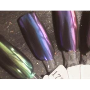 Зеркальный пигмент Tricolor 1734MLG бело-сиреневый - изображение 2 - интернет-магазин tricolor.com.ua