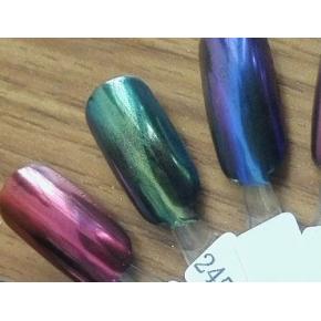 Зеркальный пигмент Tricolor 2451MLG зеленый - интернет-магазин tricolor.com.ua