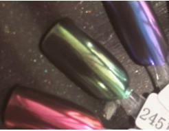 Зеркальный пигмент Tricolor 2451MLG зеленый - изображение 2 - интернет-магазин tricolor.com.ua