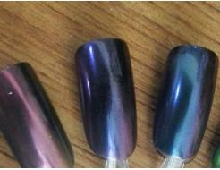 Зеркальный пигмент Tricolor 2128ML фиолетовый - изображение 2 - интернет-магазин tricolor.com.ua