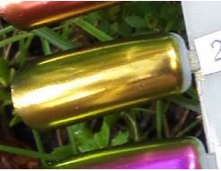 Зеркальный пигмент Tricolor 2501HL зеленое золото - изображение 3 - интернет-магазин tricolor.com.ua