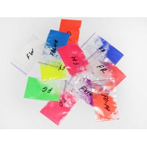 Образцы флуоресцентных (неоновых) пигментов Tricolor - изображение 2 - интернет-магазин tricolor.com.ua