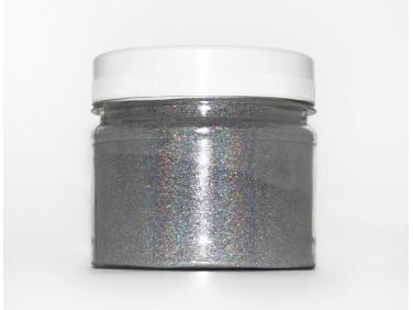Глиттер лазерный серебряный Tricolor SL-001/36 микрон