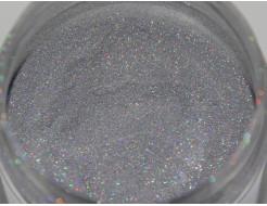 Глиттер лазерный серебряный Tricolor SL-001/36 микрон - изображение 6 - интернет-магазин tricolor.com.ua