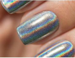 Купить Глиттер лазерный серебряный Tricolor SL-001/36 микрон - 2