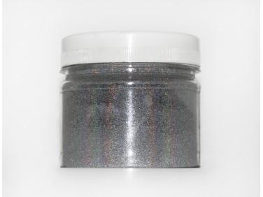 Глиттер лазерный серебряный Tricolor SL-001/50 микрон