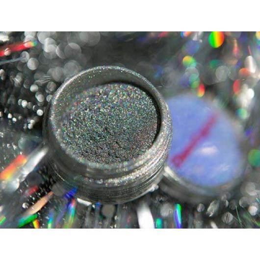 Глиттер лазерный серебряный Tricolor SL-001/50 микрон - изображение 6 - интернет-магазин tricolor.com.ua