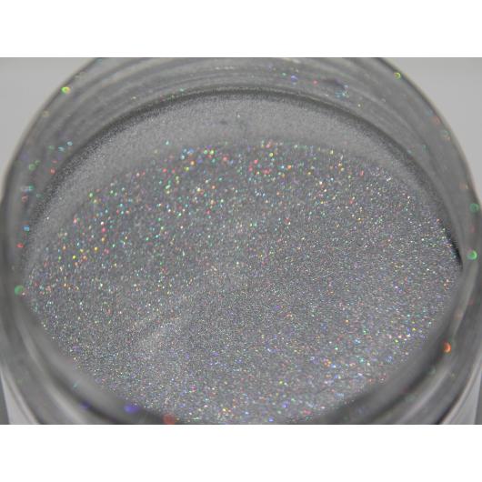 Глиттер лазерный серебряный Tricolor SL-001/50 микрон - изображение 5 - интернет-магазин tricolor.com.ua