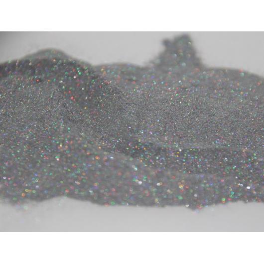 Глиттер лазерный серебряный Tricolor SL-001/50 микрон - изображение 3 - интернет-магазин tricolor.com.ua