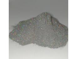 Глиттер лазерный серебряный Tricolor SL-001/50 микрон - интернет-магазин tricolor.com.ua