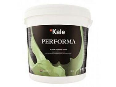 Краска акриловая матовая фасадная Kale Performa