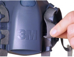 Полумаска 3M 7502, размер M - изображение 2 - интернет-магазин tricolor.com.ua
