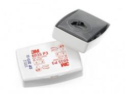 Противоаэрозольный фильтр 3М 6035 (класс защиты: P3R) пара - изображение 3 - интернет-магазин tricolor.com.ua