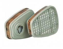 Фильтр для защиты от органических/неорганических паров, кислых газов, аммиака и производных 3M 6059 пара - изображение 2 - интернет-магазин tricolor.com.ua