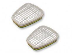 Фильтр для защиты от органических/неорганических паров, кислых газов, аммиака и производных 3M 6059 пара - изображение 3 - интернет-магазин tricolor.com.ua