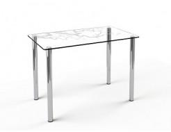 Купить Стеклянный обеденный стол S1 910*610 покраска - 9