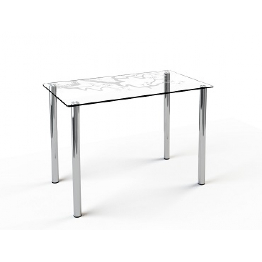 Стеклянный обеденный стол S1 1200*750 покраска - изображение 2 - интернет-магазин tricolor.com.ua