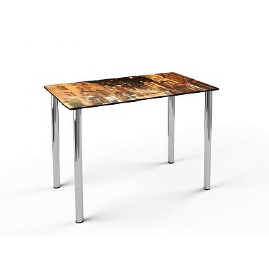 Стеклянный обеденный стол S1 1200*750 покраска - изображение 3 - интернет-магазин tricolor.com.ua