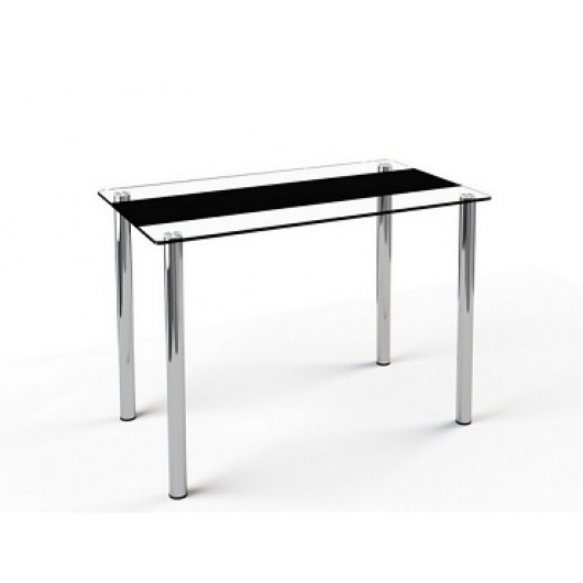 Стеклянный обеденный стол S1 1200*750 покраска - изображение 4 - интернет-магазин tricolor.com.ua