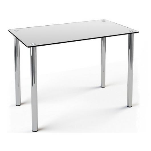 Стеклянный обеденный стол S1 910*610 матовый