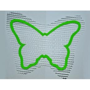 Декор для жидких обоев Бабочка