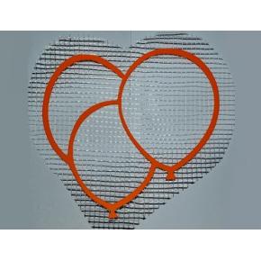 Декор для жидких обоев Воздушные шарики