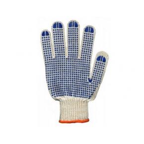 Перчатки трикотажные с ПВХ рисунком (пара) 15200_FORA размер XL