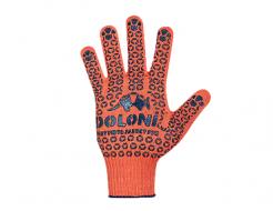 Купить Перчатки трикотажные с ПВХ рисунком (пара) Doloni 526 размер XL - 22