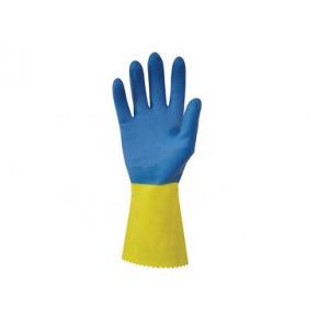 Перчатки химстойкие с двойным напылением (пара) Duo Plus POL RU560/08 размер M - изображение 3 - интернет-магазин tricolor.com.ua