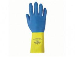 Перчатки химстойкие с двойным напылением (пара) Duo Plus POL RU560/10 размер XL - изображение 2 - интернет-магазин tricolor.com.ua