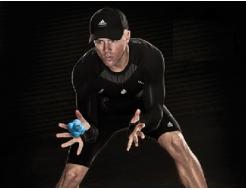 Купить Мяч для тренировки реакции ADSP-11502 синий - 4