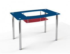 Купить Стеклянный обеденный стол S2 910*610 покраска - 11