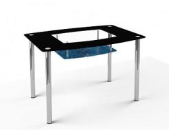 Купить Стеклянный обеденный стол S2 1100*650 покраска - 14