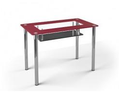 Стеклянный обеденный стол S3 1100*650 покраска - изображение 4 - интернет-магазин tricolor.com.ua