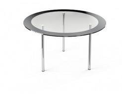 Купить Стеклянный обеденный стол R1 900*900 покраска - 24