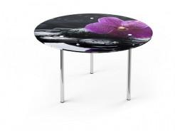 Купить Стеклянный обеденный стол R1 900*900 покраска - 25