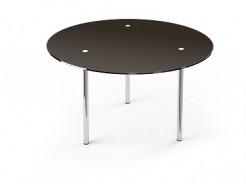 Купить Стеклянный обеденный стол R1 1100*1100 покраска - 23