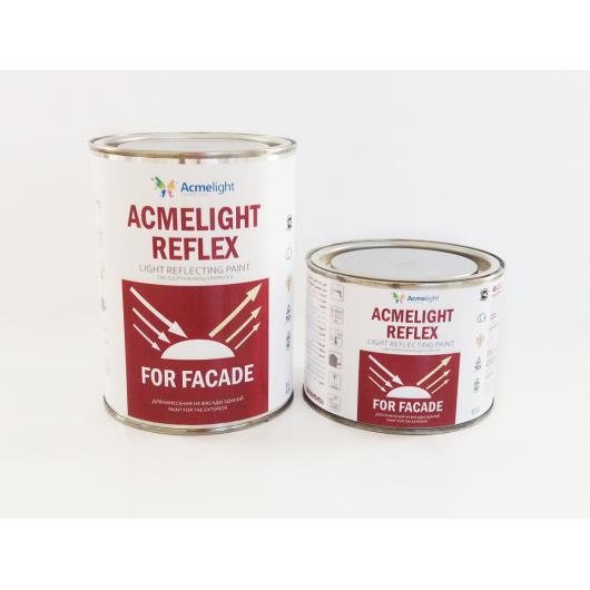 Двухкомпонентная светоотражающая краска для фасада AcmeLight Reflex Facade