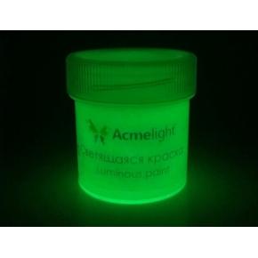 Краска люминесцентная AcmeLight для творчества белая 20 мл - изображение 2 - интернет-магазин tricolor.com.ua
